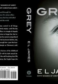 Э.Л.Джеймс презентовала новый роман о главном герои трилогии 50 оттенков серого
