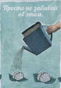 Оказывается человеческий мозг долго не проживет без Чтения!